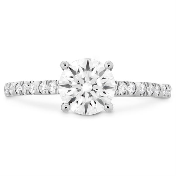 Hearts on Fire Engagement Ring