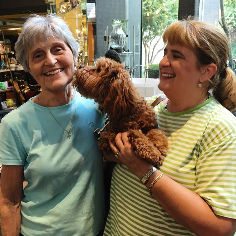 Even man's best friend (or woman's best friend, as the case may be) loves shopping at Bromberg's! Especially when we are having such a fantastic sale! Is this pup adorable or what? #mansbestfriend #welovedogs #wehavethebestcustomers #sale #brombergsjewelry #mountainbrook