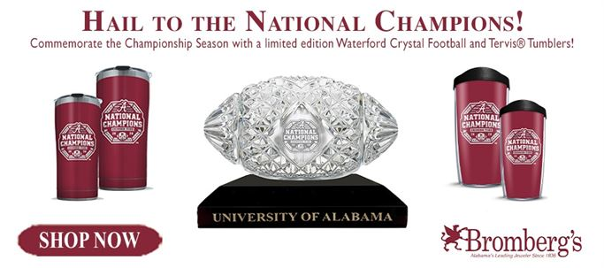Alabama – National Championship Win collection